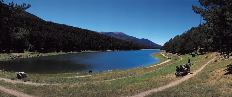 Le lac d'Engolasters