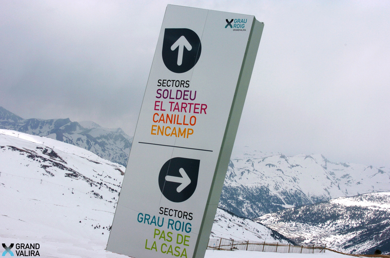 grandvalira is situated to the north of the andorran principality along the border with france - Bder In Grau