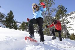 Vallnord - snowshoes