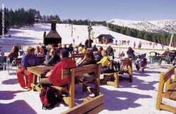 Vallnord - snack bars with terrace
