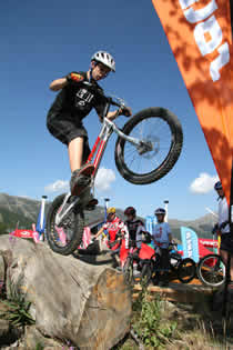 Vallnord - Area Bike trial